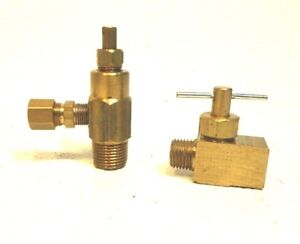 Forenta Valve With Straight Connector 1 4 Air Neddle Valve op302
