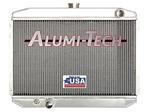 Cr3231 Alumi Tech 1967 1970 Ford Mustang Radiator For 302 351 390 429 Engine Usa