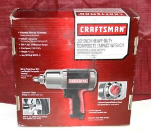 Nib Craftsman 1 2 Heavy Duty Composite Impact Wrench