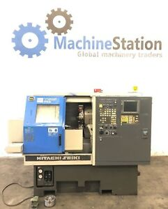Hitachi Seiki Ts 15 Cnc Turning Center Lathe 6000 Rpm Fanuc Mori Cl Daewoo Haas