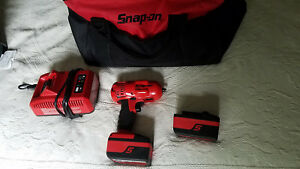 Snap on Ct8810 3 8 Inch Drive 18v Lithium ion Cordless Impact