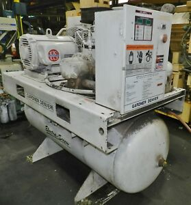 Gardner Denver 30 Hp Electra Screw Rotary Screw Air Compressor Ebergh W Dryer