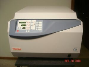 Thermo Electron Jouan C4i 7k Rpm Centrifuge W Rotor Works Looks Great