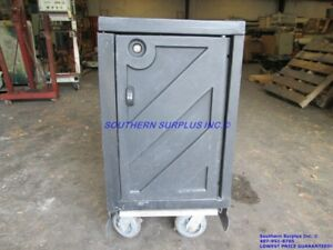 Portable Rolling Food Transport Cart Vending Concession Stand Tray