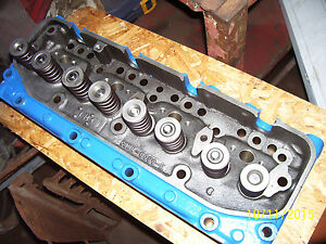 Vintage Ford 800 900 Diesel Tractor 4 Cyl Engine Head Conn 6090 E