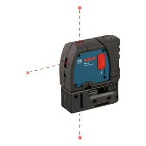 Bosch Gpl3 3 Point Self Leveling Alignment Laser Level certified Refurbished