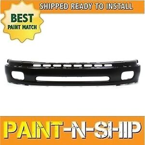 2000 2001 2002 2003 2004 2005 2006 Toyota Tundra Steel Front Bumper Painted