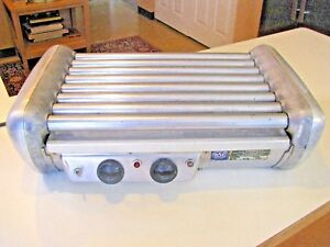 Vintage Jj Connolly Roll a grill C 14 Hotdog Machine Commercial Concession