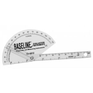 Baseline Plastic Goniometer Finger Flexion To Hyper extension 25 pack 12 1
