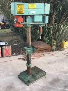 Rockwell Delta 20 Drill Press Model 70 6x0 3 Phase Lathe Metalworking