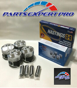Ycp 81mm High Compression Pistons And Rings Civic Si Type R Integra B16 B18