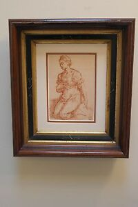 Antique East Lake Frame With Decorative Liner