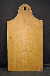 Old Vintage Antique Primitive Farmhouse Cutting Board Tool Country Kitchen Decor