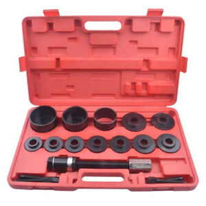 19 Pcs Fwd Front Wheel Removal Tool Kit Drive Bearing Puller Master Set Hub