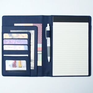 Ahzoa 6 Pockets A5 Memo Padfolio S1 Including 5 X 8 Inch Legal Writing Pad 6 3