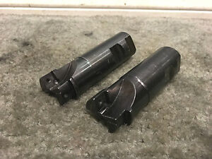 2 Seco 1 1 4 Indexable End Mill Milling Cutter 2 flute Machine Holder