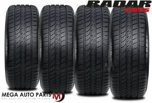 4 X New Radar Dimax As 8 215 45zr17 91w Xl Tl All Season Performance Tires