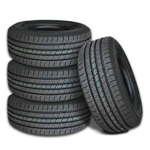 4 New Lexani Lxht 206 P255 70r16 109t All Season Performance Tires