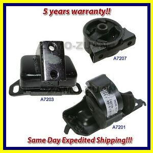 Engine Motor Trans Mount Set 3pcs For 86 89 Toyota Celica For Auto W Turbo