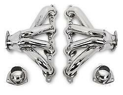 Hooker Super Comp Polished Stainless Block Hugger Headers Chevy Ls Series
