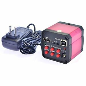 Red 14mp Hdmi 720p Hd Usb Digital Industry Video Inspection Microscope Camera Tf