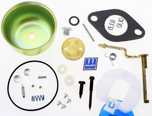 Carburetor Kit Float Choke Shaft Walbro Whg17 Whg17b Tecumseh Lauson Oh180 Wm2