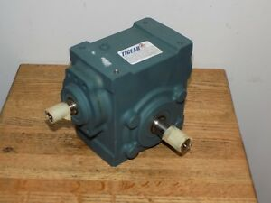 Dodge 17s25r Tigear 2 Right Angle Worm Gear Speed Reducer 25 1 Ratio