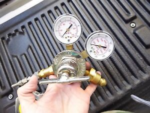 Smith 30 100 540 Gas Regulator 0 To 150 Psi 3000 Psi Oxygen Tested Working 7