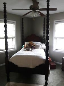 Vintage 4 Post Bed 150 Years Old 3 4 Size Great Condition 200