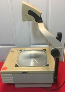 Tested Genuine 3m 1710 1700 Ajb Series Overhead Projector With 2 New Lamps