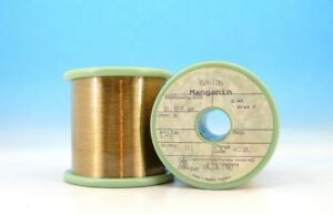 200ft 60m E Manganin Cumn12ni 46awg 0 04mm 362 4 m 110 ft Resistance Wire