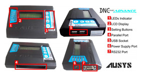 Compact Dnc Usb Reader For Cnc Machines usb To Rs232 Fanuc Paralell Converter