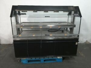 Custom Deli Inc Dilw 6h Hot Food Display Case Commercial Heated Merchandiser