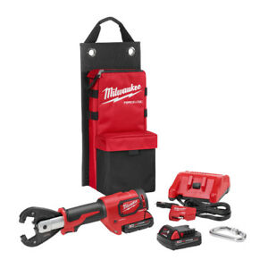 Milwaukee 2678 22k M18 Force Logic 6t Utility Crimping Kit W Kearney Grooves