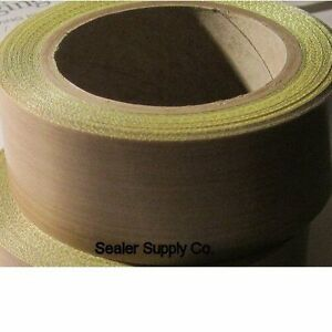 1 Roll Ptfe 2 X 3 Mil X 18 Yds Tape Silicone Adhesive 500f Uline Bag Sealing