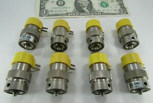8 Clippard Pneumatic Solenoid Valves Et 3m 12vdc Normally Closed Manifold 10 32