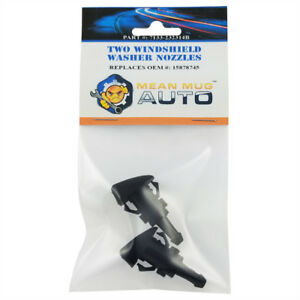 Mean Mug Auto 2x Windshield Washer Nozzles For Buick Chevrolet Gmc 15878745