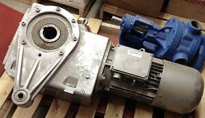 Nord Gear Motor Electric Motor W Gearbox 7 5 hp 1800 rpm 90521azc3h 132 S 4 C