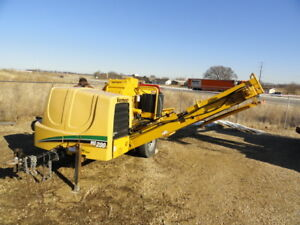2008 Vermeer Hg200 Wood Chipper Horizontal Grinder Forestry Arborist Low Hours