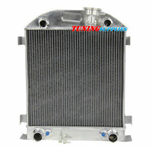 4rows Aluminum Radiator For Ford Model A Flathead Engine 1928 1929 At Mt