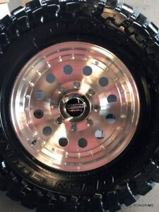 16x8 Outlaw 2 Wheel American Racing 6 Lug Fit Chevy Gmc 6 On 5 5 Bp Caps