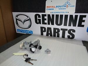 Genuine Mazda 2007 Cx 7 Cx 9 Door Ignition Lock Key Set Oem Oe Eg22 09 010b
