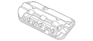 Genuine Honda Engine Cylinder Head Cover Assembly Oem 12310r70a00