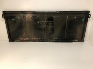 Vintage Willys Jeep Tailgate Great Repurpose Man Cave Wall Hanger Bench Ect