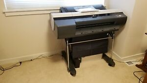Canon Ipf6100 24 Wide Large Format Printer With Stand And Cover