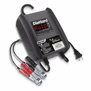 Diehard 6 Amp 6 Volt And 12 Volt Battery Trickle Charger Maintainer
