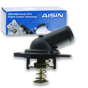 Aisin Coolant Thermostat For 2002 2006 Honda Cr V 2 4l L4 Radiator Uo