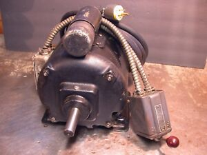 Excellent Westinghouse 1 2hp Pre wired Metal Lathe Motor South Bend Logan Atlas