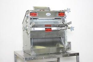 Acme Mrs11 r Commercial Dough Roller Double Pass Counter top Sheeter Machine