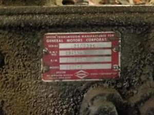 Spicer 5652 Gm 2 Ton Truck Transmission 5 Speed Will Ship
